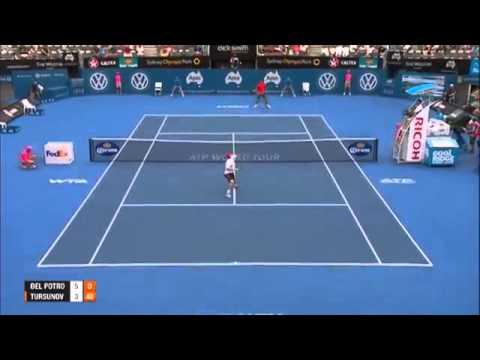 Apia Sidney 2014 ATP - Juan M.Del Potro vs Dmitry Tursunov SF