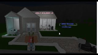 Roblox Bloxburg Speedbuild|| How tiny is this house going to be?!