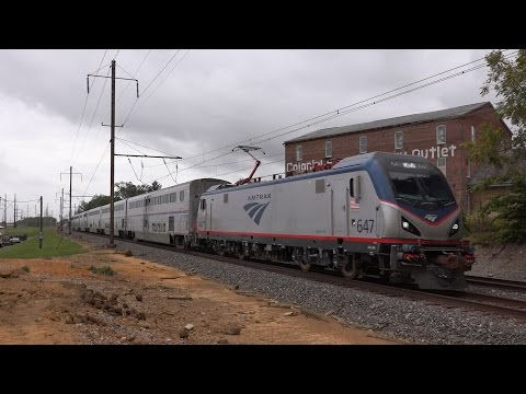 Amtrak Keystone Corridor: Superliners, Pennsylvanian and Keystone Service