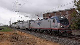 Amtrak Keystone Corridor: Superliners, Pennsylvanian and Keystone Service