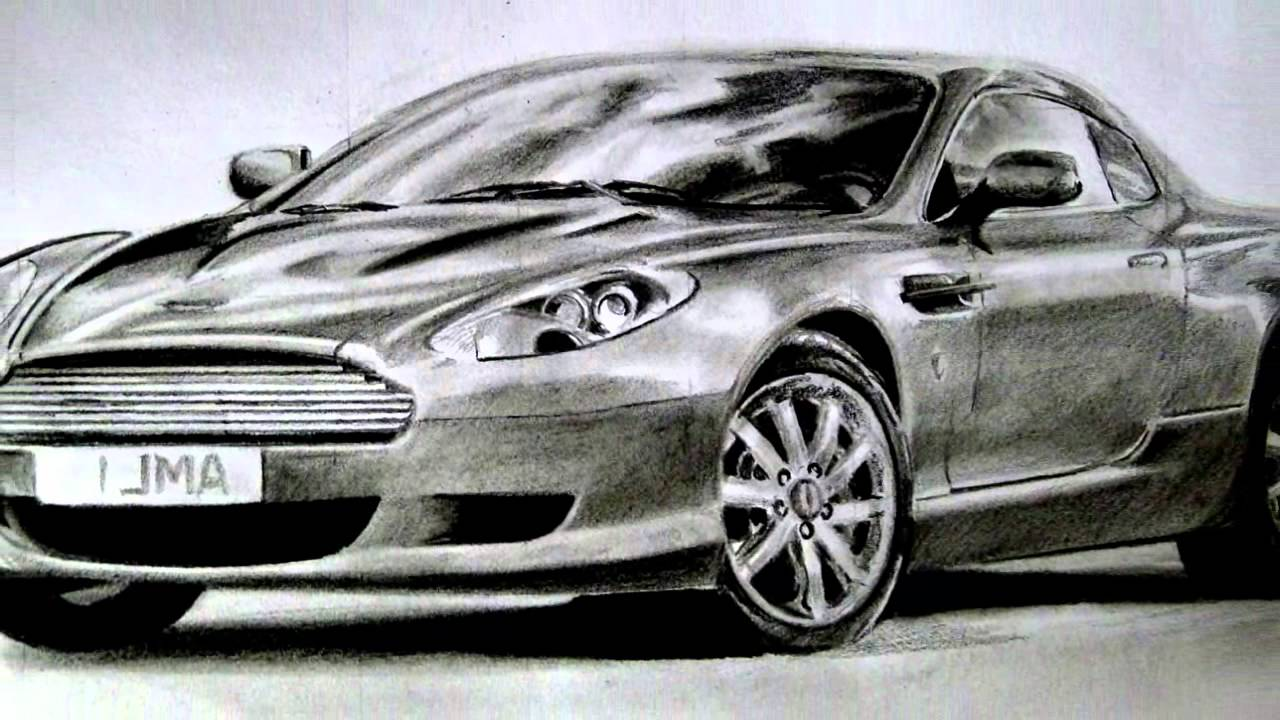 Super Car Drawing Digital Squared Youtube