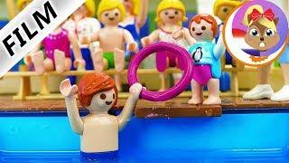 Playmobil Film Nederlands JULIAN EMMA DUIKTEST! NOOIT MEER ZWEMANGST? Familie Vogel