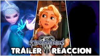 Kingdom Hearts III - E3 2018 Frozen Trailer Reacción