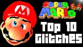 Super Mario 64 TOP 10 GLITCHES (Wii U, N64)