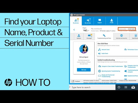 How To Find Your HP Laptop Name, Product Number, Or Serial Number | HP Notebooks | HP