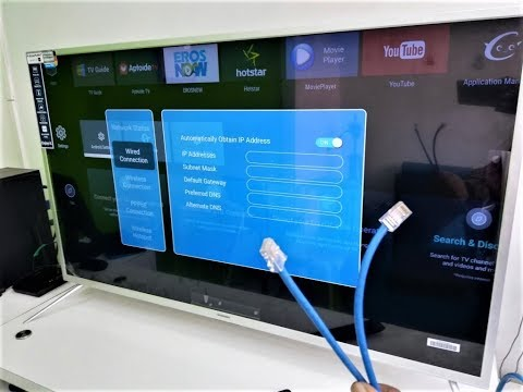How to Setup Ethernet Wired Internet Connection For TV (Easy)