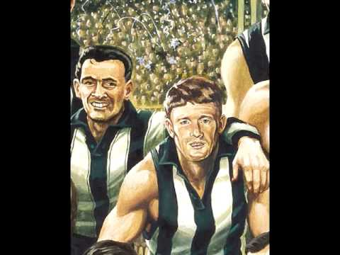 Collingwood Team of the Century - Painting by Jamie Cooper