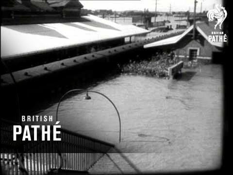 Flood Havoc In New South Wales (1950)