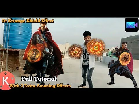 Kinemaster Editing #43    Dr. Strange Shield Effect With 2 Amazing Extra Effects    Android!!!!!