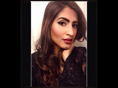 Saturday Night Full Face Glam - Makeup Tutorial | Brown/Indian Skin