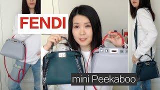 FENDI   Peekaboo mini bag review 包包分享