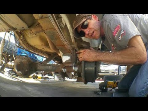 How to Remove Rear Leaf Springs from a Jeep Cherokee XJ