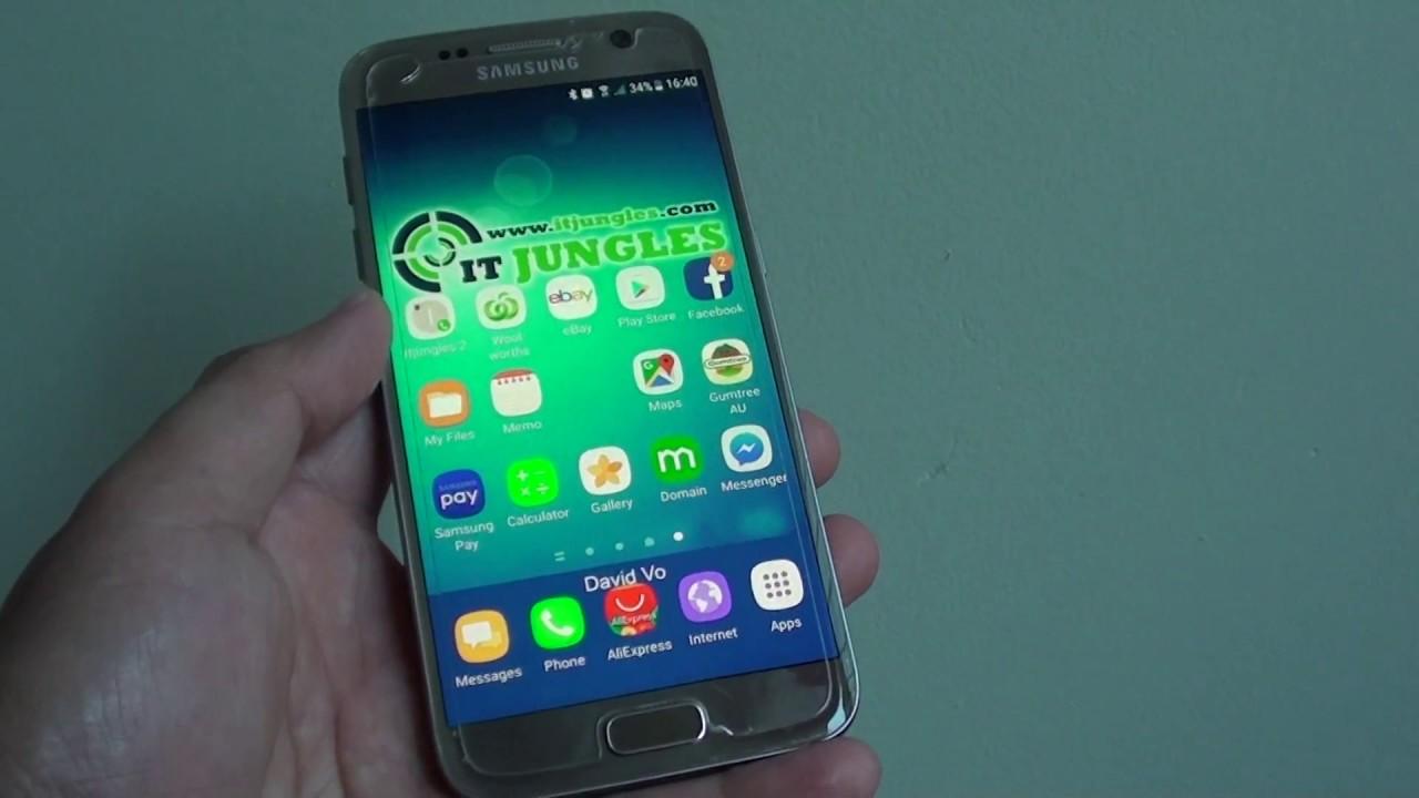 sms lesen galaxy s7