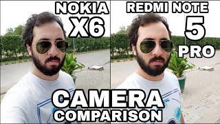 Nokia X6/Nokia 6.1 Plus vs Redmi Note 5 Pro Camera Comparison|Nokia X6 Camera Review|Nokia 6.1 Plus