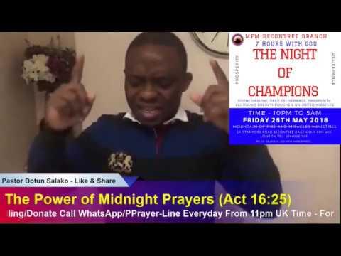 The Power of Midnight Prayers - Pastor Dotun Salako