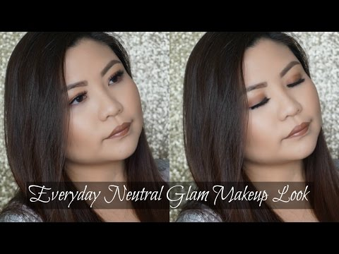 Everyday Neutral Glam Makeup Look | PIXI Beauty + ITSJUDYTIME | ITSEYETIME thumbnail