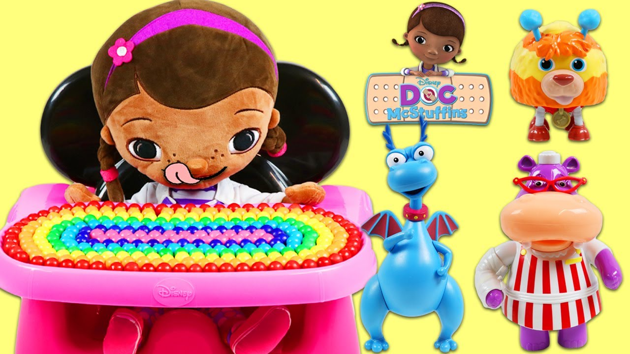 Doc Mcstuffin Chair Pico Telescoping Feeding Disney Mcstuffins In Minnie Mouse High Youtube