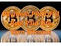 Payment Proof Earn BITCOINS NO LIMIT (MUST WATCH)