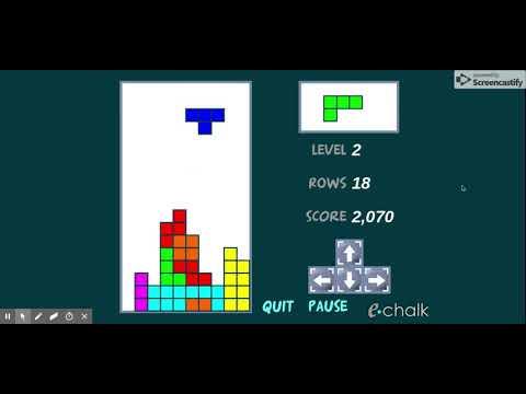 Free Tetrominoes: The Classic Arcade Game - EChalk