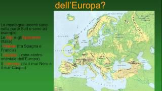 Europa fisica - parte prima