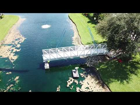 Five Dredge & Marine - New BRIDGE in Palm Beach Gardens Fl.....Part 1