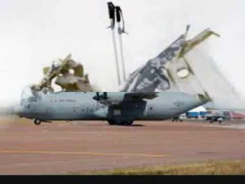 Iaf Aircraft C 130j Super Hercules Crashes Near Gwalior