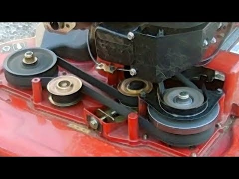 Synchronous Belt And Pulley Replacement Toro TimeMaster