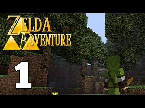 let's-play-adventure-craft:-zelda-adventure-part-1:-schleimi-dungeon
