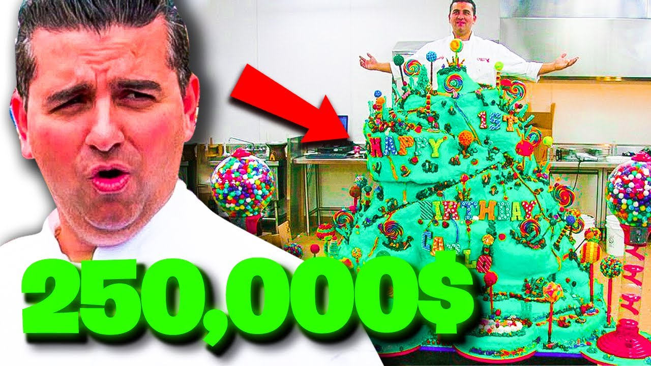 Download 10 MOST EXPENSIVE CAKES On Cake Boss