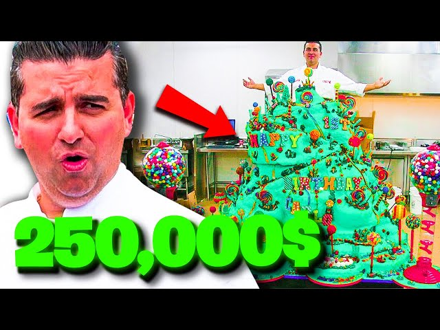 10 MOST EXPENSIVE CAKES On Cake Boss