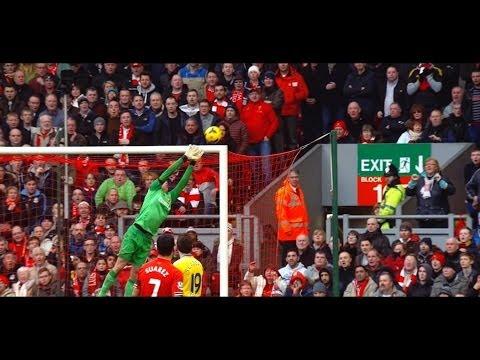 Luis Suarez vs Arsenal (Home) HD 720p (08/02/2014)