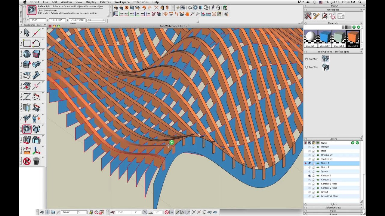 fabricating a lattice structure with form�z youtube
