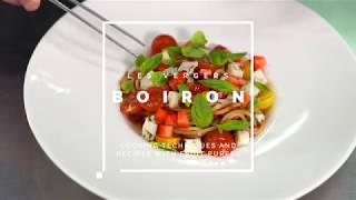 [RECIPE Les vergers Boiron] Tomato and strawberry sauce for pasta