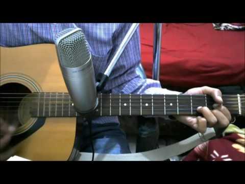 Mahi Ve - NEHA KAKKAR - COMPLETE GUITAR COVER LESSON CHORDS - WAJAH TUM HO