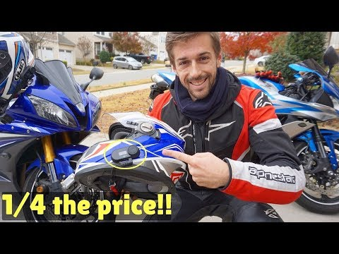BEST Cheap Motorcycle Helmet Bluetooth System!