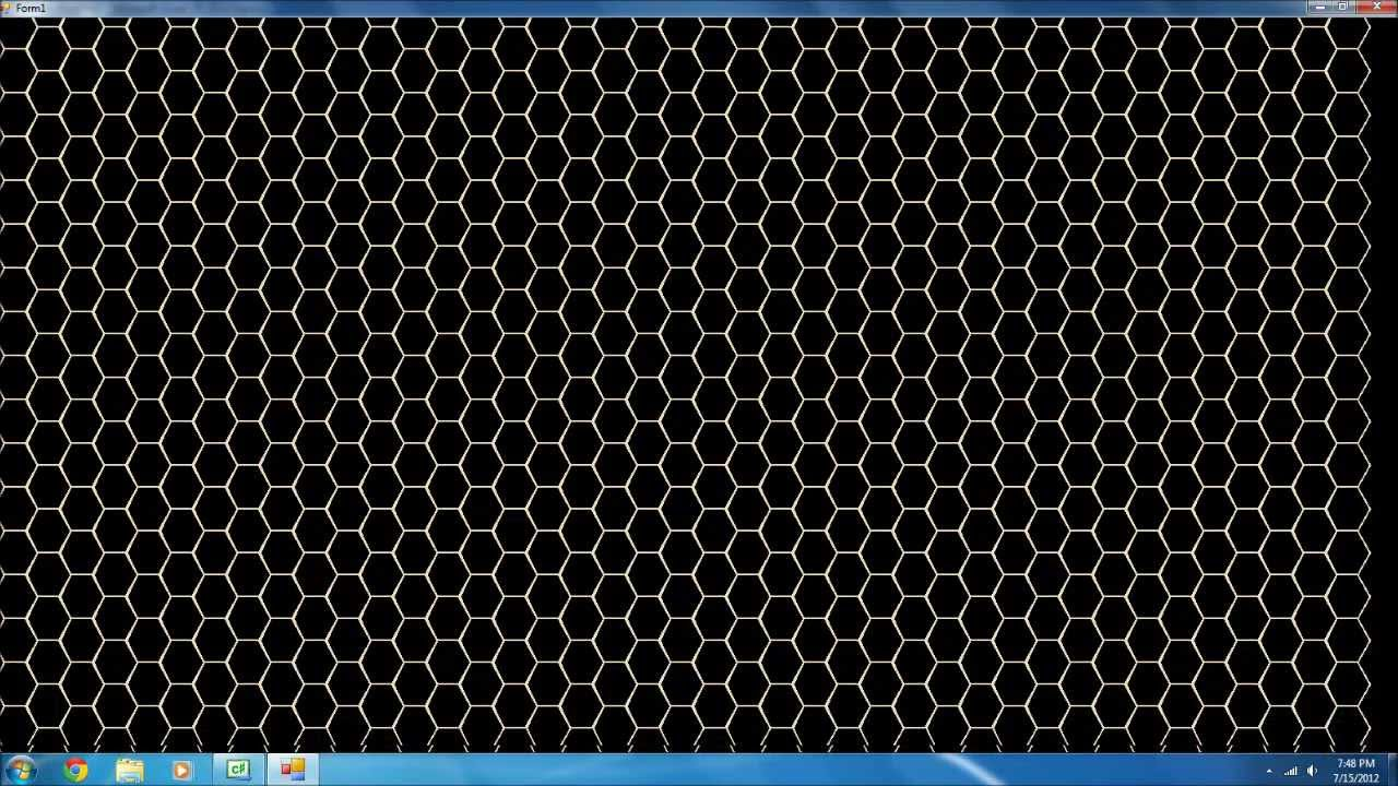 C# Graphics - Draw a Hexagon Map with Graphics and DrawPolygon