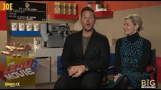 Chris Pratt and Elizabeth Banks discuss their big St. Patrick