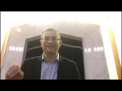 Video Message from Rabbi Knopf - November 12, 2020