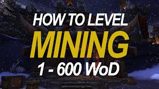 How to Level Mining (1-600)