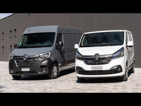 New Renault Master And Trafic LCVs (2019)