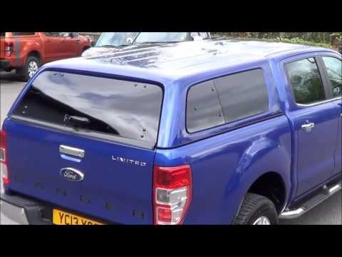 Aeroklas Leisure Canopy On Ford Ranger Mk5