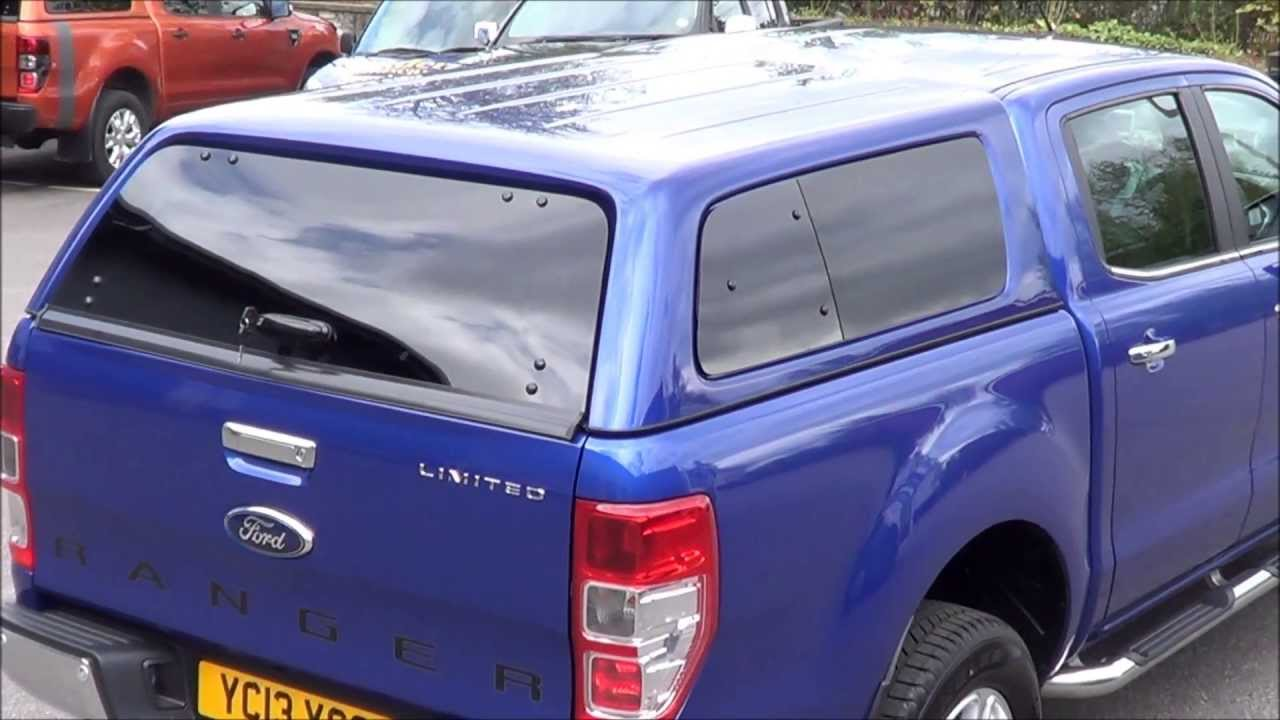 & Aeroklas Leisure Canopy On Ford Ranger Mk5 - YouTube