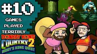 Donkey Kong Country 2 Part 10 - Slime Climb - Games Played Terribly