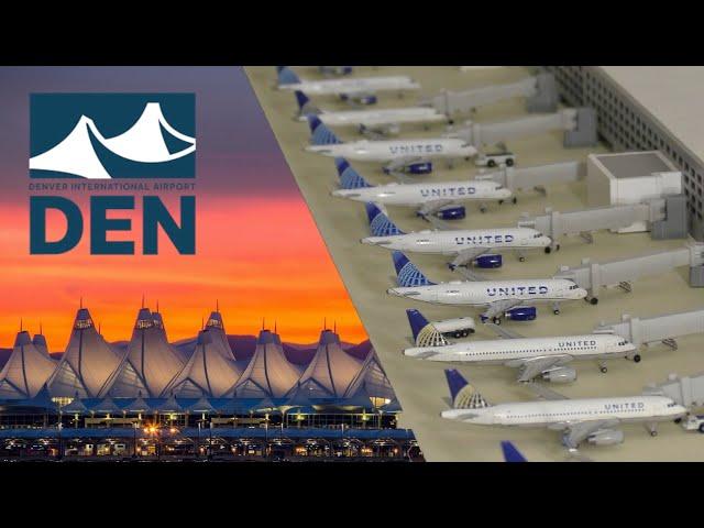 Gemini Jets airport Update Denver International airport DEN