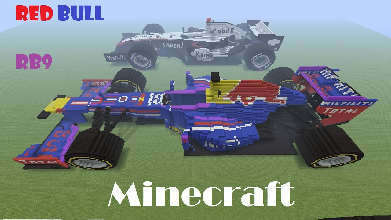 Minecraft Car Red Bull Youtube