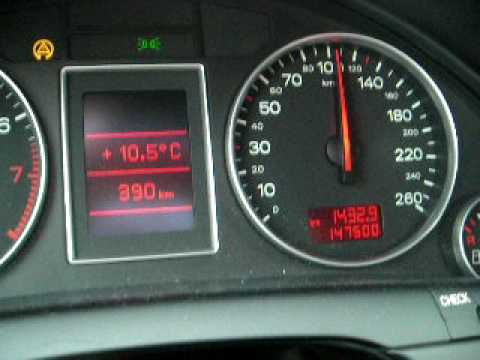 Audi A4 B6 2001 1 6 Acceleration 0 160 Km H Youtube