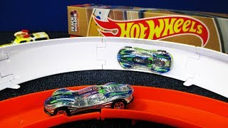 Turn It! Hot Wheels Track Builder, Part F, Hot Wheels Curves (Finding Todd)