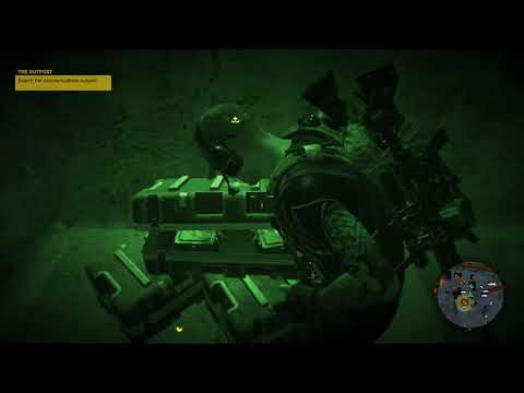 THE OUTPOST: Search The Communications Outpost (Ghost Recon® Wildlands)