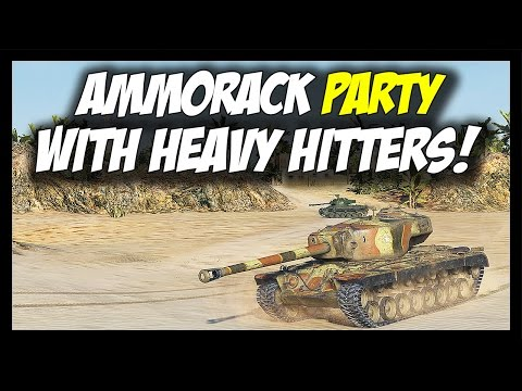 ► World of Tanks: Ammoracks from USA - T95 feat. T30 Gameplay