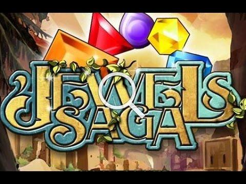 Jewels Saga - захватывающая игра головоломка для андроид.
